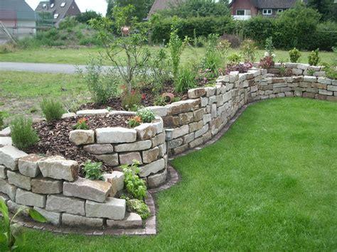 Garten Böschung Gestalten by 25 Sch 246 Ne Trockenmauer Bauen Ideen Auf