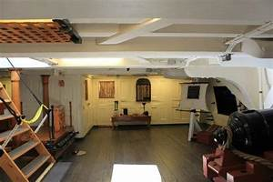 Looking toward the Captain's Quarters - Picture of USS ...