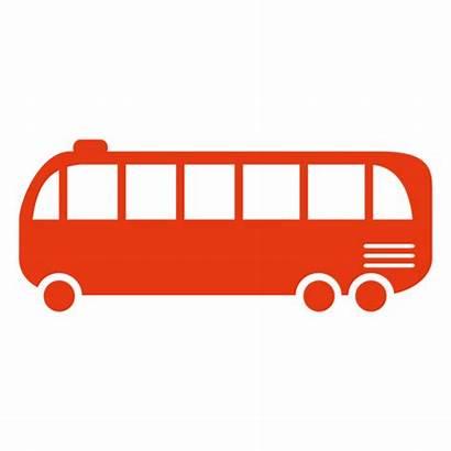 Bus Tour Silhouette Svg Transparent Icon Siluete