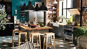 Deco Cuisine Bistrot : le bistrot inspire la cuisine ~ Louise-bijoux.com Idées de Décoration