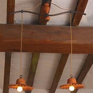 Lampen Im Landhausstil : mehrflammige rustikale pendelleuchte im landhausstil von ~ Michelbontemps.com Haus und Dekorationen