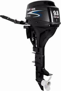 9 8 Hp Outboard Motor With Manual Start  Long Shaft