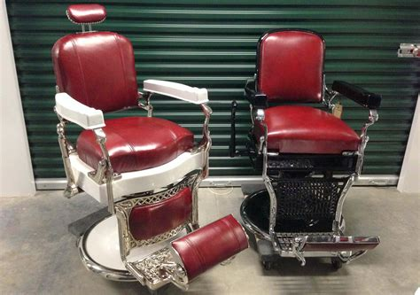 Ebay Koken Barber Chairs by Antique Barber S Chairs Styles Brands And Repro S