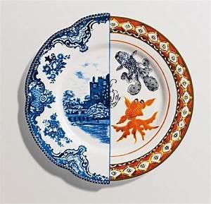 Assiette Originale Moderne : service vaisselle en porcelaine fine invitez l 39 art votre table ~ Teatrodelosmanantiales.com Idées de Décoration