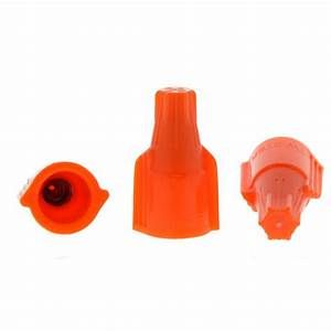 Ideal 340 Orange Twister Lt Wire Connector  250 Per Bag