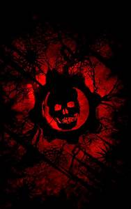 2018 Download Gears of War Red Wallpaper iPhone Full Size ...