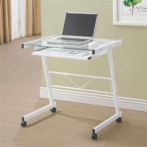 Coaster Computer Desk White by Best Computer Desks And Corner Aluminium Based Desk With