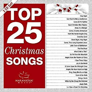 Various Artists  Top 25 Christmas Songs  Amazoncom Music
