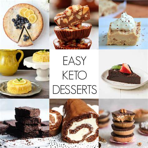 keto desserts quick  easy keto dessert recipes