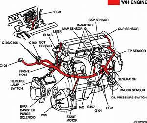 2001 Daewoo Lano Engine Diagram