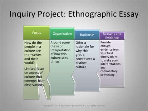essay   ethnographic essay