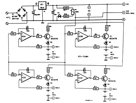 Nicd Battery Charger Circuit Diagramz