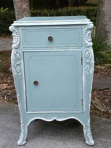 Vintage Fancy Rococo Style French Commode Annie Sloan