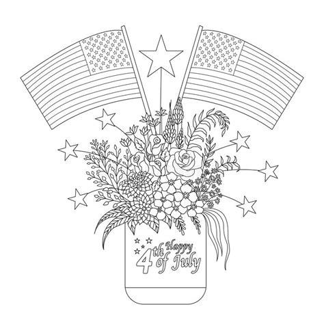 libro sui fiori insieme delle decorazioni bandiere e schizzo di
