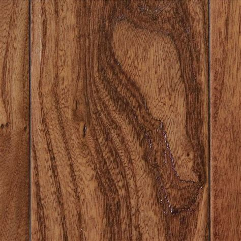 elm hardwood home legend hand scraped elm desert 3 8 in t x 3 1 2 in w x varying length click lock hardwood