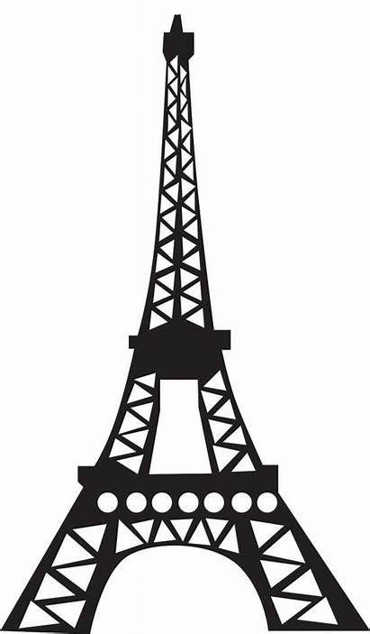 Tower Eiffel Coloring Clipart