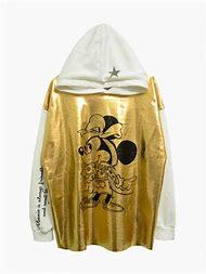 Gold Metallic Hoodie