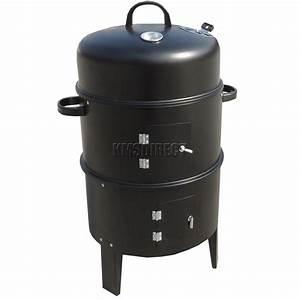 Baupläne Smoker Grill : foxhunter black bbq charcoal grill barbecue smoker garden ~ Articles-book.com Haus und Dekorationen