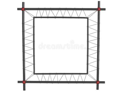 cornici nere cornici nere isolate illustrazione di stock