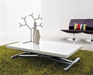 Table Basse Qui Monte : table basse design qui monte et descend blog design d 39 int rieur ~ Medecine-chirurgie-esthetiques.com Avis de Voitures
