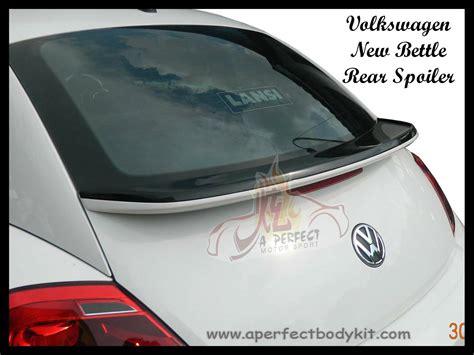 volkswagen  beetle rear spoiler volkswagen  beetle