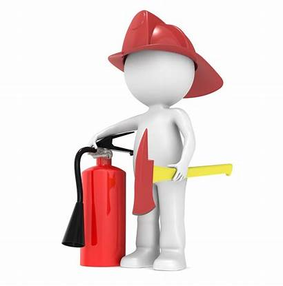 Fire Marshal 3d Human Training Character Clipart