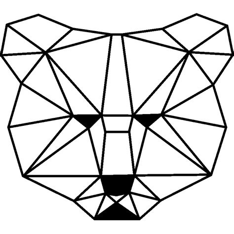 couleur de carrelage pour cuisine sticker origami ours stickers chambre têtes de lit ambiance sticker