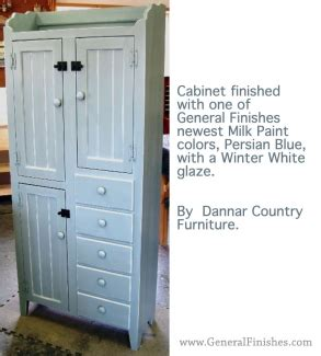 staining kitchen cabinets cabinet dressed in blue milk paint white glaze 2462