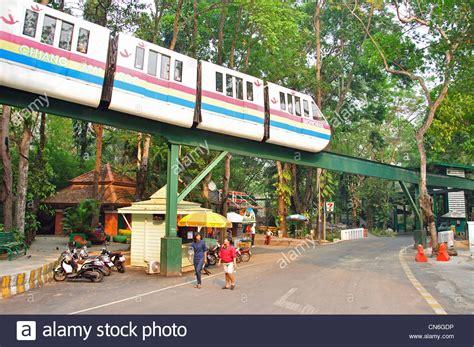thailand 2010 chiang mai zoo monorail at chiang mai zoo chiang mai chiang mai province thailand stock photo royalty free