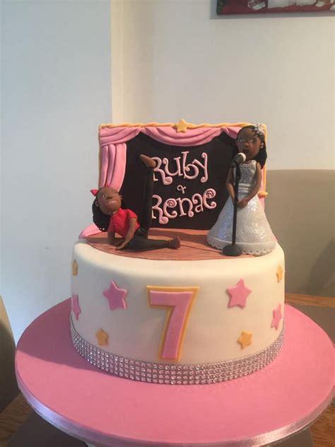 Dancer, Singer, Stage Cake Cakecentralcom