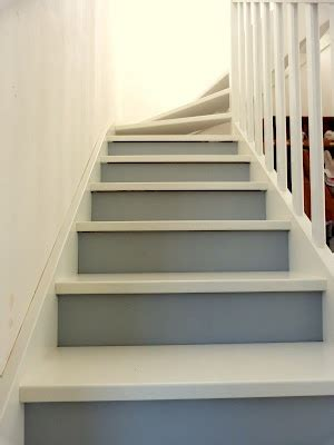 Amenagement Cage D Escalier by Escalier Bicolore Escaliers Pinterest