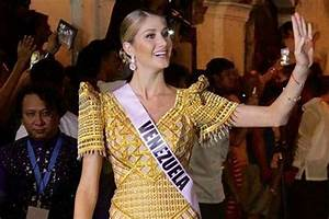LOOK: Miss Venezuela reacts to early Miss Universe exit ...