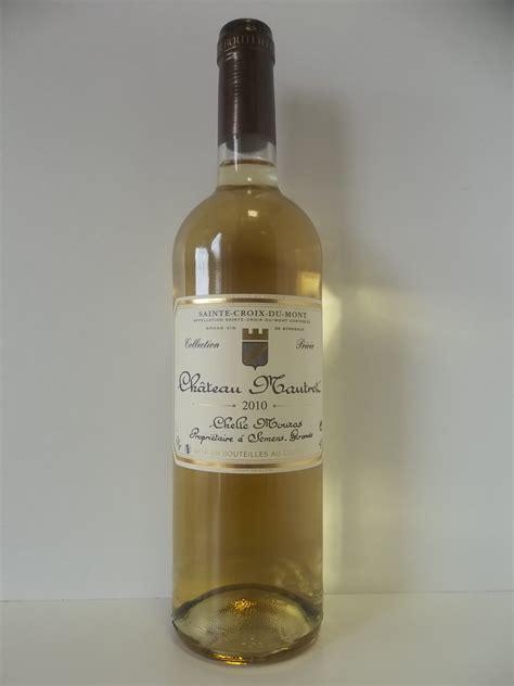 sainte croix du mont vin vin de bordeaux sainte croix du mont 2010 chateau mautret