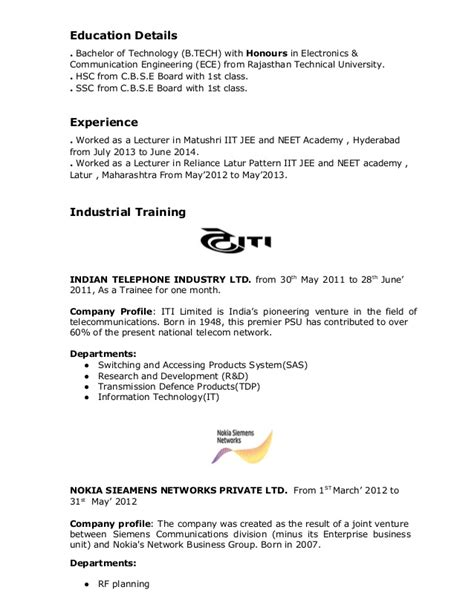 Analytical And Conceptual Skills Resume by Resume Format