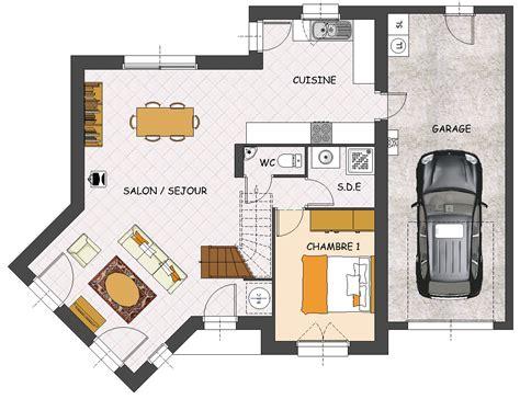 plan maison plein pied 4 chambres construction maison neuve palmyre lamotte maisons