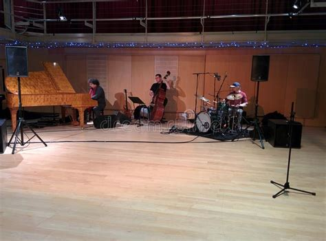 Jazz Trio Live In Session Editorial Photo Image Of