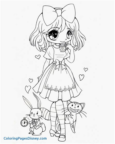 Anime Mad Hatter Coloring Pages Print Coloring