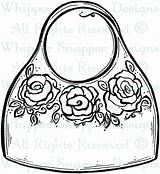 Coloring Purse Pages Bag Wallet Colouring Printable Getcolorings Drawn Luxury sketch template