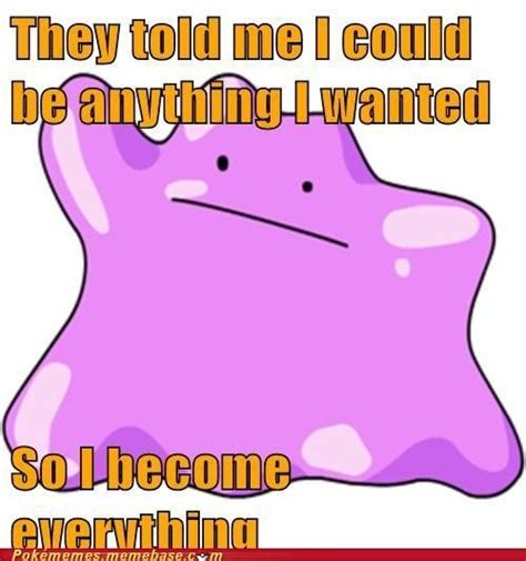pokemon ditto funny pokemon meme stuff
