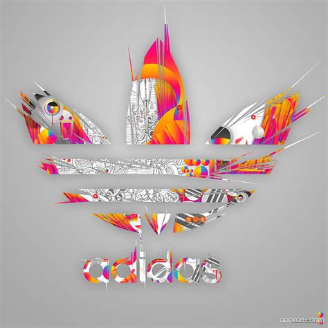 colorful addidas adidas colorful logo wallpaper adidas hd