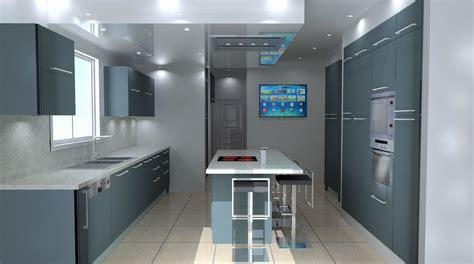 conception de cuisine conception d une cuisine plans et vues en perspective