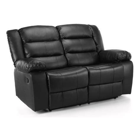 recliner for two whitfield 2 seater leather reclining sofa next day