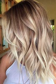 Blonde Ombre Hair Color Idea