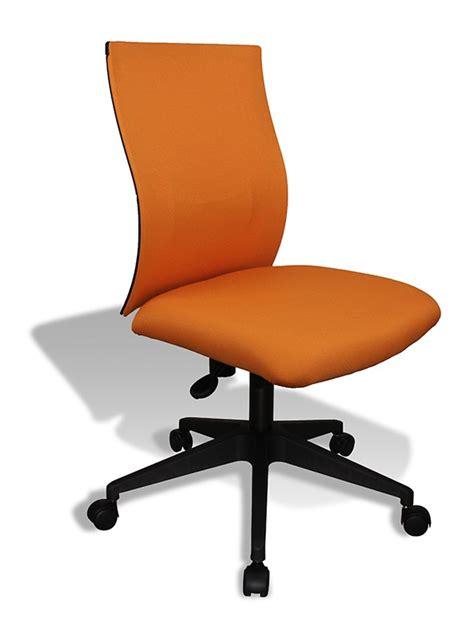 orange desk chair modern orange office chair kaja by jesper office chairs