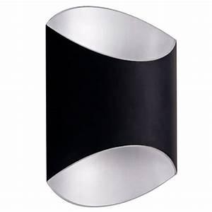 Applique Murale Dorée : applique murale dor e noire design ovale 250mm haut g9 myplanetled ~ Teatrodelosmanantiales.com Idées de Décoration