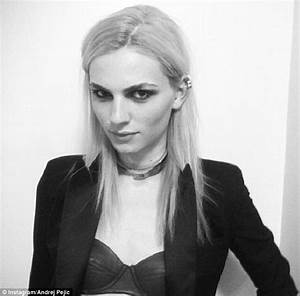 Andrej Pejic expands his reign on the fashion world by ...  Andrej