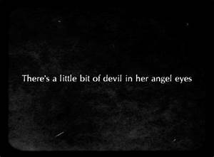 ANGEL DEVIL QUO... Angel And Evil Quotes