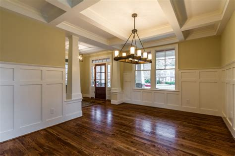 craftsman style home interiors craftsman style home interiors craftsman dining room richmond by bradford custom home
