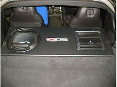 Chevy Corvette Sub Box Chevy Corvette Subwoofer Box C6