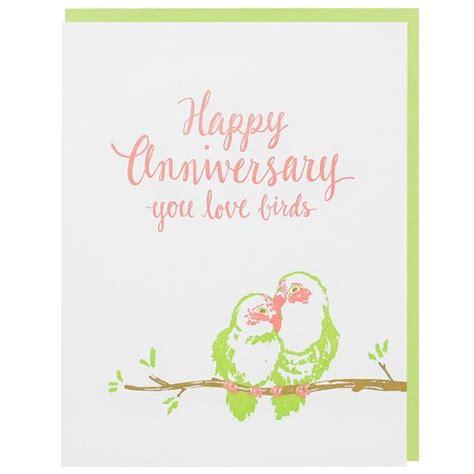 love birds anniversary card happy anniversary cards smudge ink smudgeinkcom